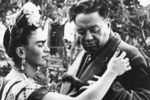 Umjetnici Frida Kalo i Dijego Rivera